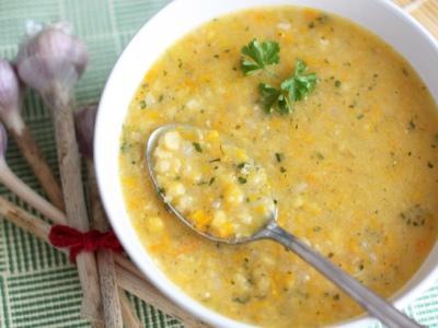 Рецепт Постный суп из чечевицы