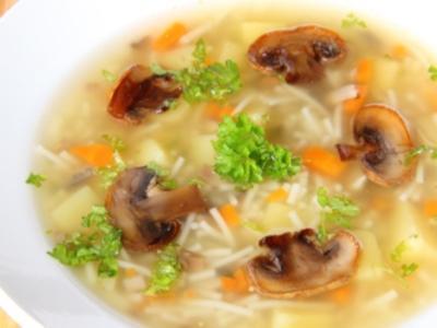 Рецепт Постный суп с вермишелью